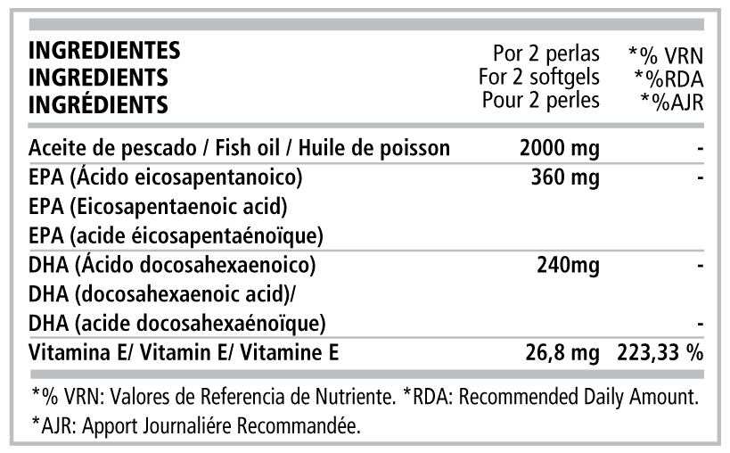 OMEGA-3-INGREDIENTES