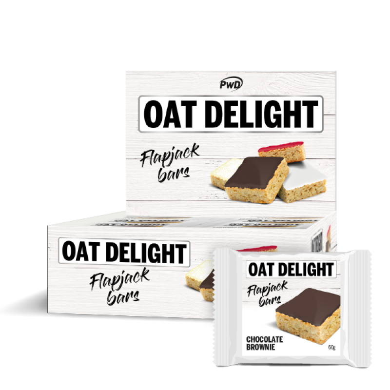 OAT DELIGHT BARS CHOCOLATE BROWNIE